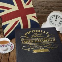 Queen Elizabeth II - Pictorial Newspaper Book